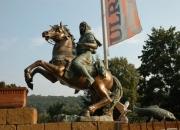 Araber Reiter Bronze Skulptur riesig Figur Pferd, Reiter, Statue, Steigendes Pferd , Gartenträume , Hobby , Blumen Garten Gartengestaltung