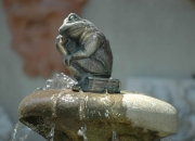 Frosch Bronze König