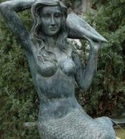 Nixe BronzeUlrich Garten Schwäbisch Gmünd