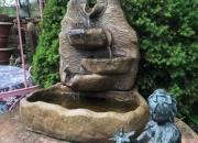 Bogenbrunnen-mit-mehreren-Überläufen-Henri, Höhe ca.61cm, Breite ca.40cm, Tiefe ca. 26cm