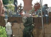 Natursteinbrunnen - Bildhauerarbeit