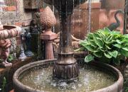 Riviera Brunnen im großen Wasserbecken, Höhe ca. 142cm, Durchmesser ca. 132cm