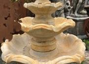 Quattro Classic Springbrunnen, Höhe ca.  137cm, Durchmesser ca. 112cm