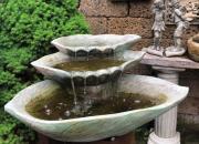 Wasserfallbrunnen-Wasserfall-Springbrunnen-Gartenbrunnen