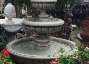 Wasserspiel-Springbrunnen-Brunnen--Naturstein-Bildhauerarbeit- in verschiedenen Größen