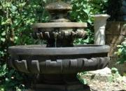 Brunnen Springbrunnen Wasserspiel