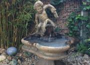 Neptun Henry Springbrunnen, Wasserspiel