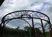 Edelrost - Pavillon - Rosenbogen