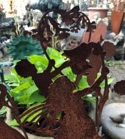Gartenstecker Frühlingskinder nach Sibylle von Olfers