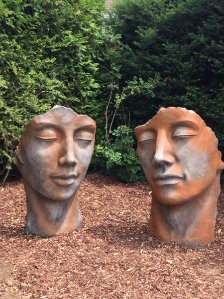 Figuren statuen aus steinguss bronze alles winterfest for Gartenfiguren aus steinguss