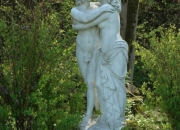 Der-Kuss-Romeo-Julia-Liebespaar-Steinguss-