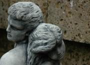 Das Liebespaar - Love - Steinguss