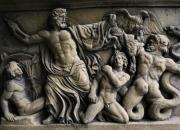 Relief - Steinplatte - Steinguss