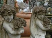 Putte Naturstein - Bildhauerarbeit
