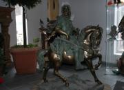 Arabischer Reiter Jäger  Bronze