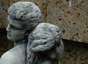Liebespaar - Eros - Amor - Der erst Kuss -