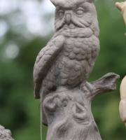englischer-Antiksteinguss-Eule-Kautz-Schleiereule