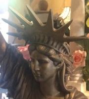 Freiheitstatue Bronze