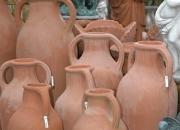 Terracotta Impruneta - Vase - Töpfe - Amphoren - Winterfest