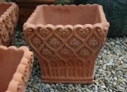 Terracotta - Impruneta - Pflanztopf - Winterfest -