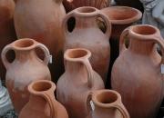Terracotta - Impruneta - Amphoren - Winterfest