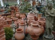 Terracotta Impruneta - Vase - Töpfe - Amphoren - Winterfest - in Hülle und Fülle - in allen Größen