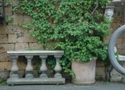Terracotta Pflanztopf Wandtopf original Impruneta aus Italien